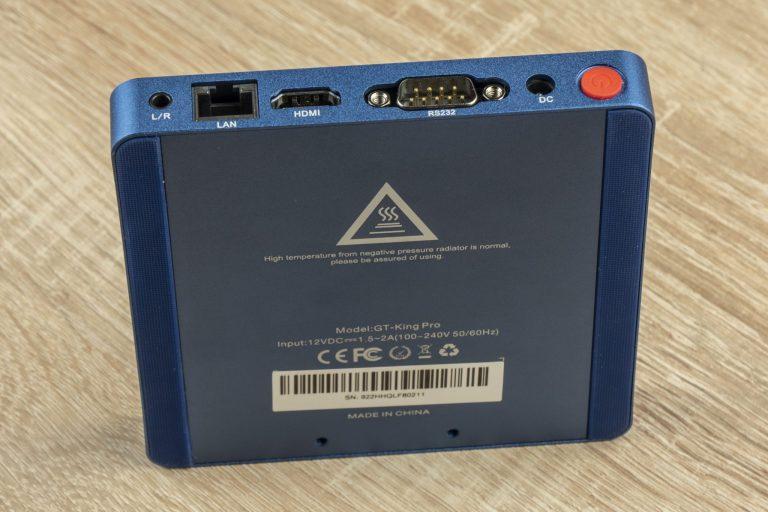 Beelink GT-King Pro TV box teszt 12