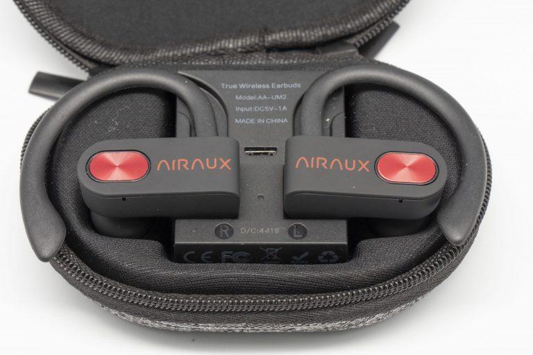 Blitzwolf AIRAUX AA-UM2 sport fülhallgató teszt 6