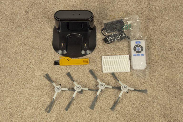 Zigma Spark 980 lézeres robotporszívó teszt 3