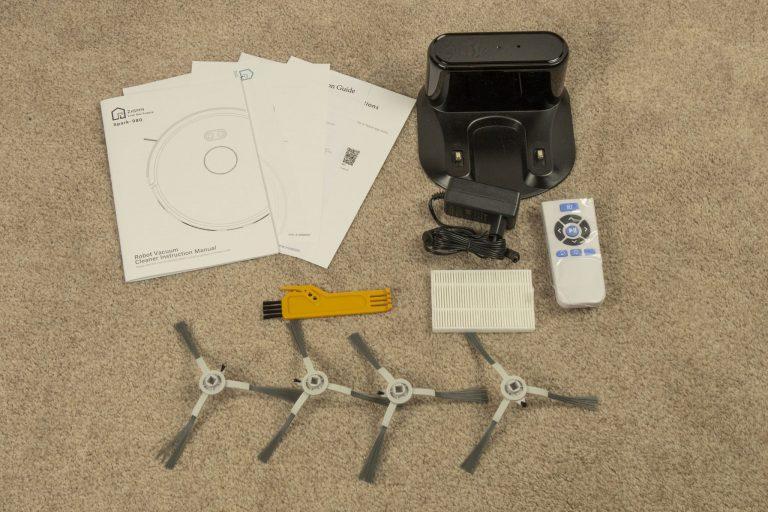 Zigma Spark 980 lézeres robotporszívó teszt 4