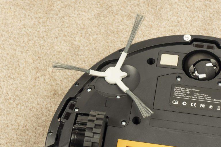 Zigma Spark 980 lézeres robotporszívó teszt 8