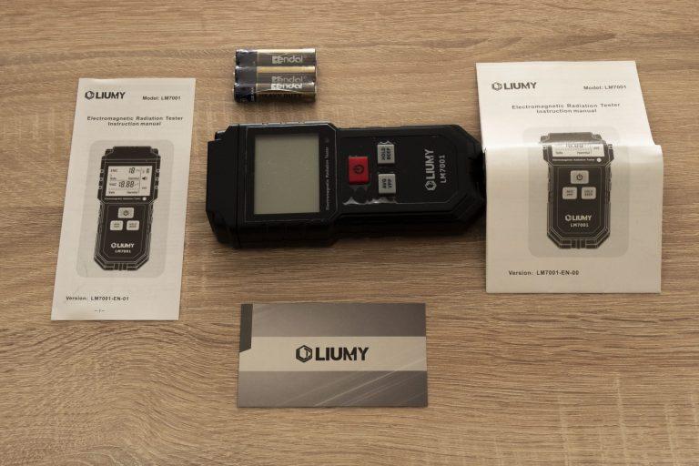 Liumy LM7001 elektromágneses mérő teszt 4