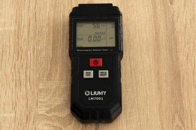 Liumy LM7001 elektromágneses mérő teszt 8