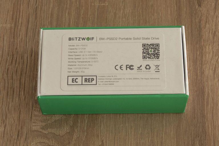 Blitzwolf BW-PSSD2 hordozható SSD teszt 3
