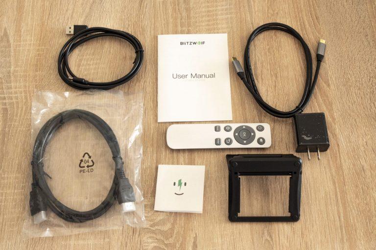 BlitzWolf BW-PCM3 hordozható monitor teszt 13