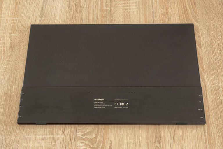 BlitzWolf BW-PCM3 hordozható monitor teszt 10