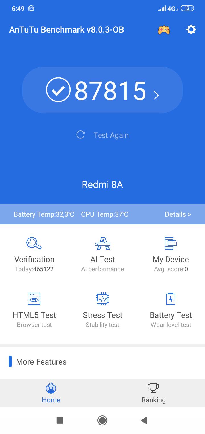 Redmi 8A okostelefon teszt 19