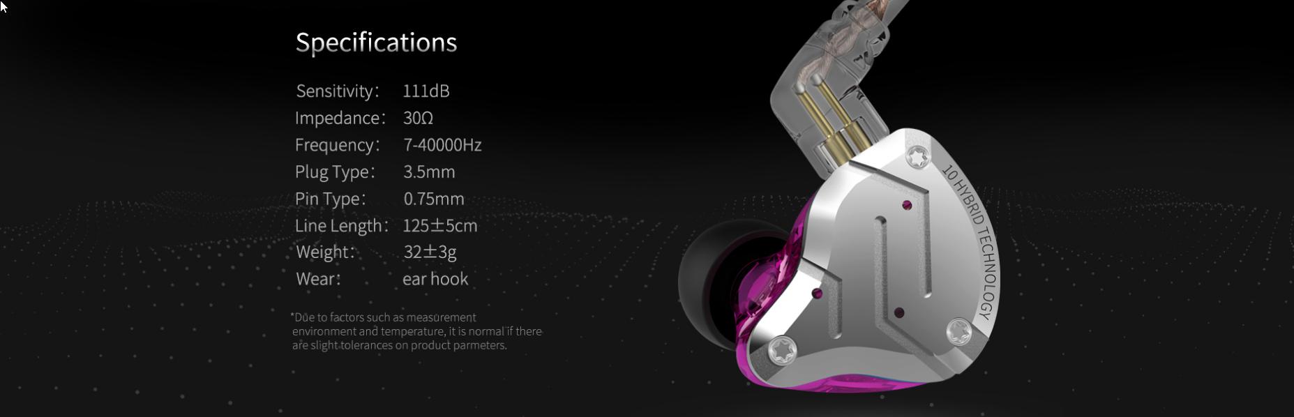 KZ-ZS10 Pro fülhallgató teszt 12