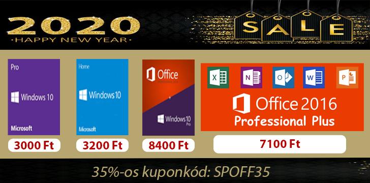 3000 forintért Windows 10 az újévben is 2
