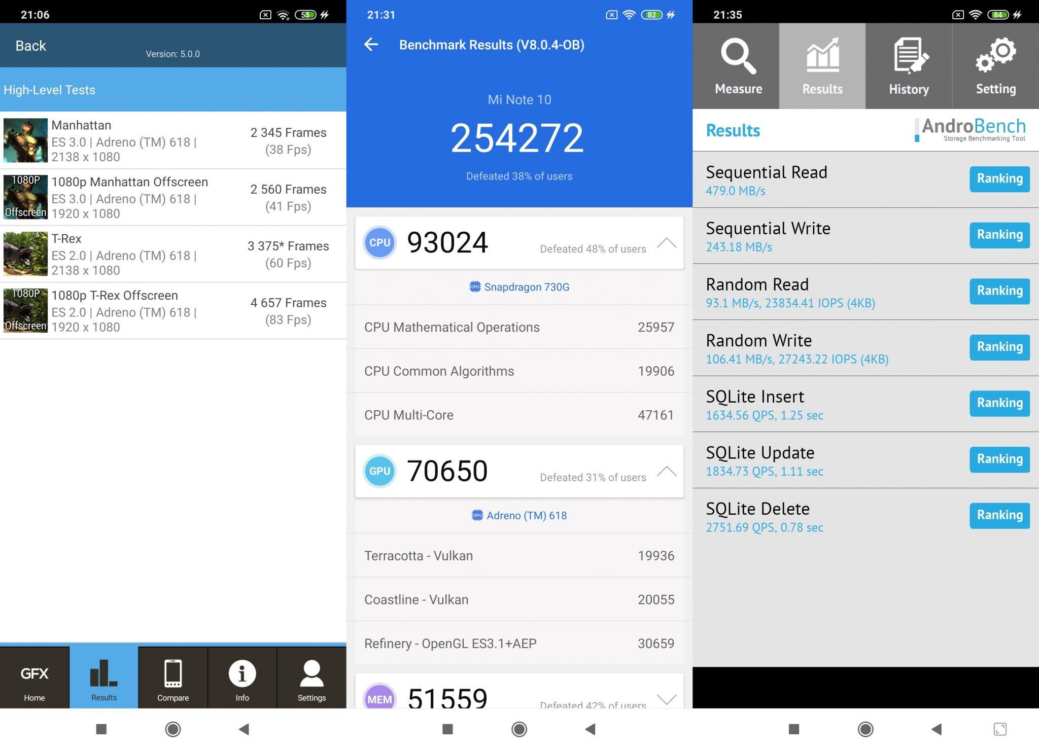 Xiaomi Mi Note 10 okostelefon teszt 11