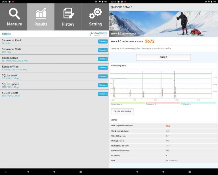 Teclast P10HD tablet teszt 16