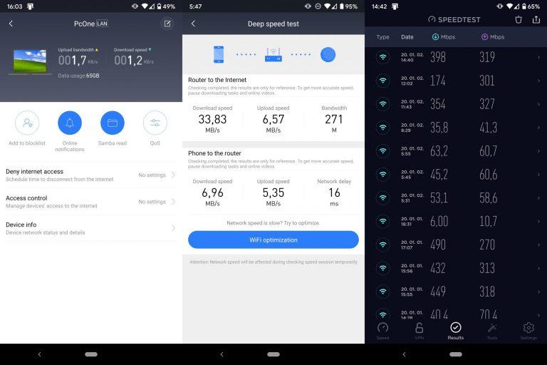 Xiaomi Mi AC2100 Router tesztje 11