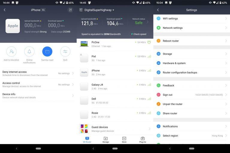 Xiaomi Mi AC2100 Router tesztje 12