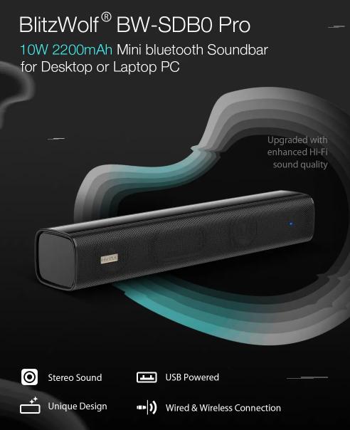 Blitzwolf BW-SDB0 Pro – olcsó mini hangprojektor 4