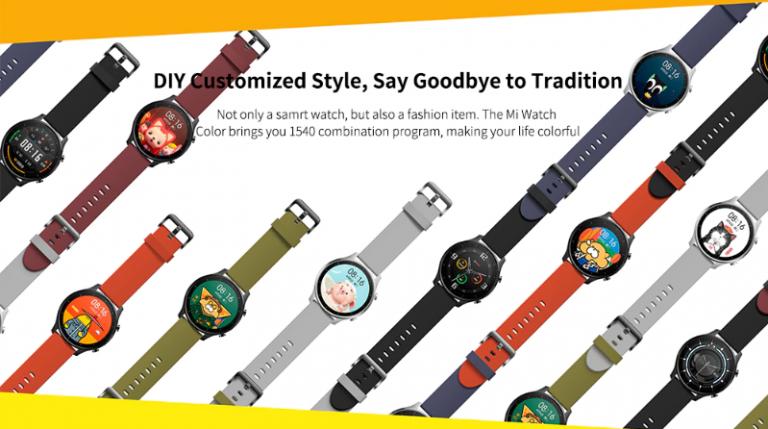 Xiaomi Mi Watch Color – színes egyéniségeknek 4