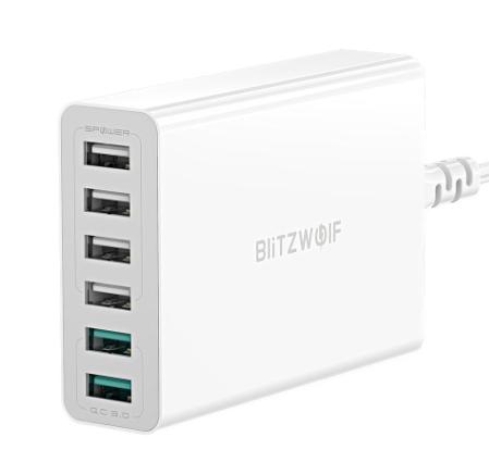 BlitzWolf BW-S15 töltő – Tele hatosokkal 5