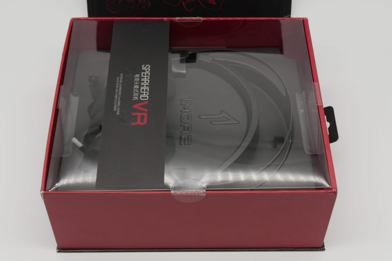 1More Spearhead VR gamer fejhallgató teszt 4