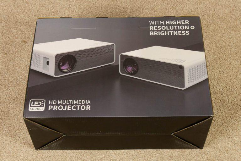 Alfawise Q9 projektor teszt 3