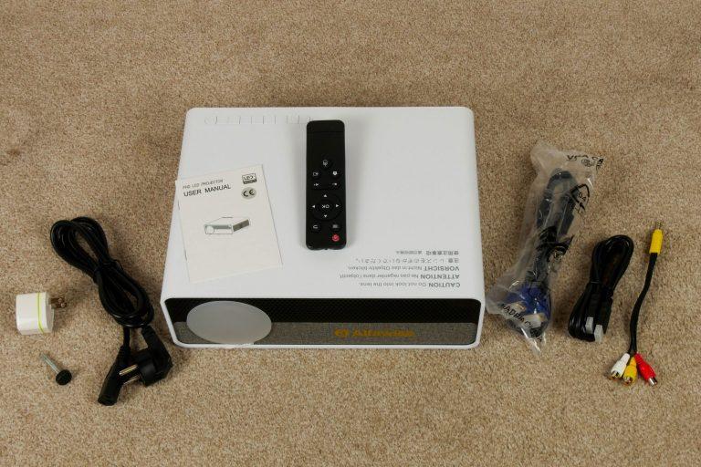 Alfawise Q9 projektor teszt 4