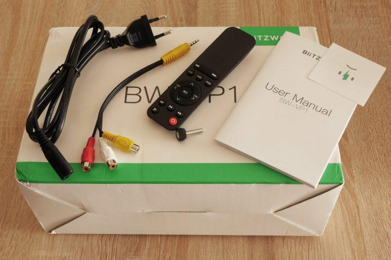 Blitzwolf BW-VP1 projektor teszt 2