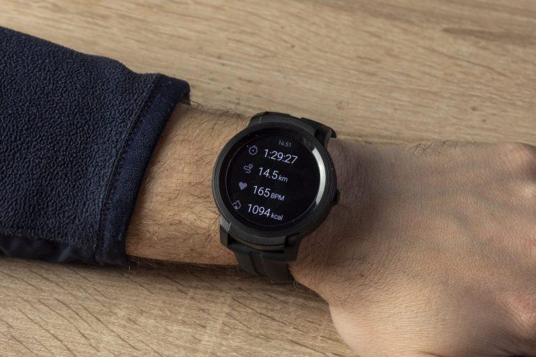 Ticwatch E2 okosóra teszt 16