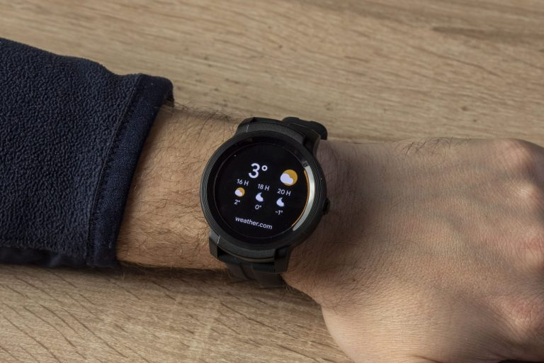 Ticwatch E2 okosóra teszt 18