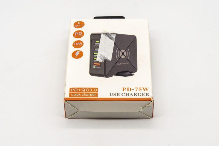 Bakeey X8-W PD75 töltő teszt 2