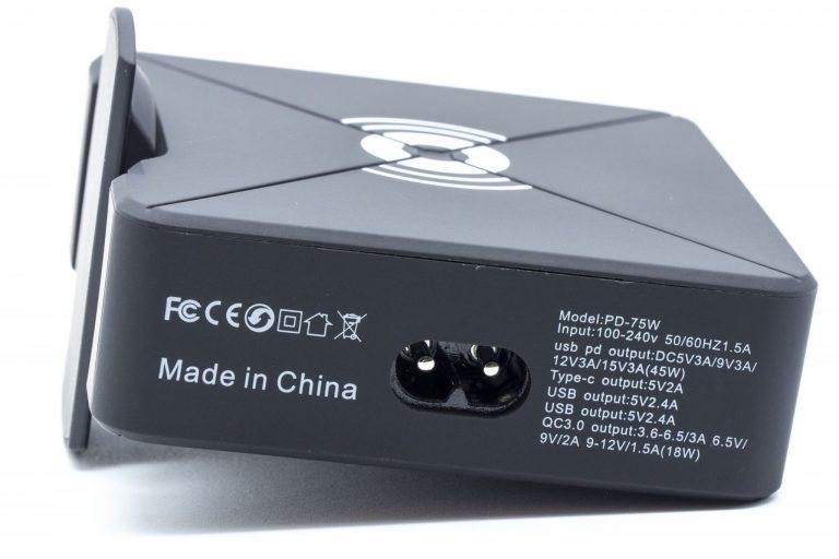 Bakeey X8-W PD75 töltő teszt 6