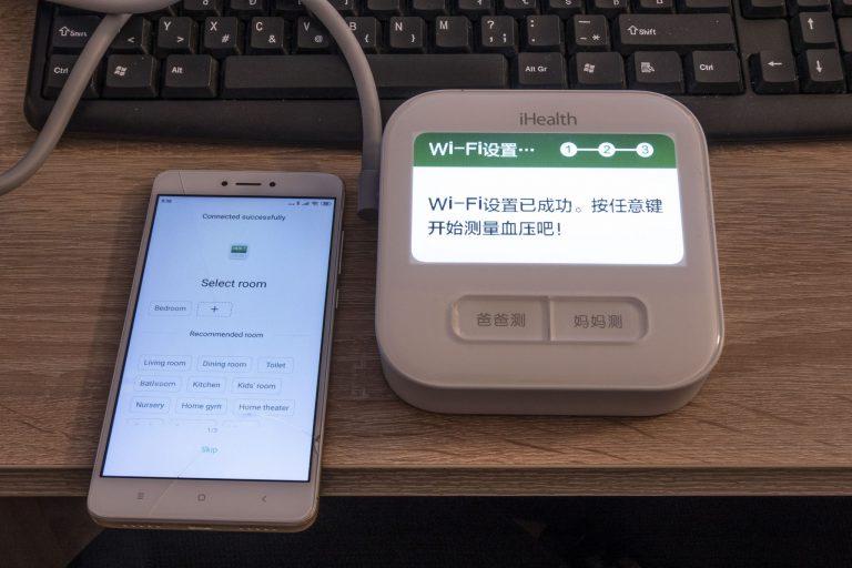 Xiaomi Mijia iHealth 2 vérnyomásmérő teszt 10