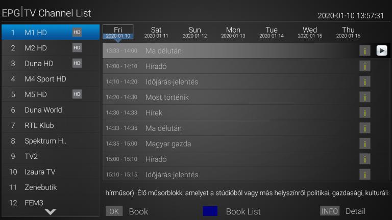 Mecool K7 TV box teszt 20
