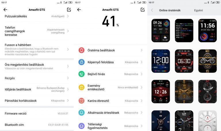 Xiaomi Amazfit GTS sportóra teszt 17