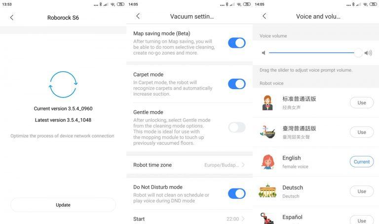 Xiaomi Roborock S6 robotporszívó teszt 14