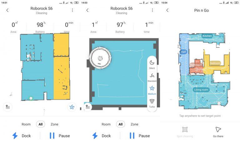 Xiaomi Roborock S6 robotporszívó teszt 15