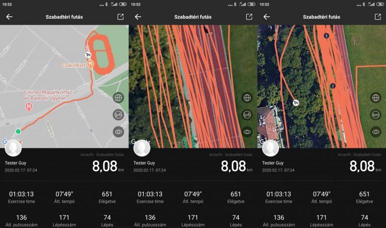 Xiaomi Amazfit GTS sportóra teszt 22