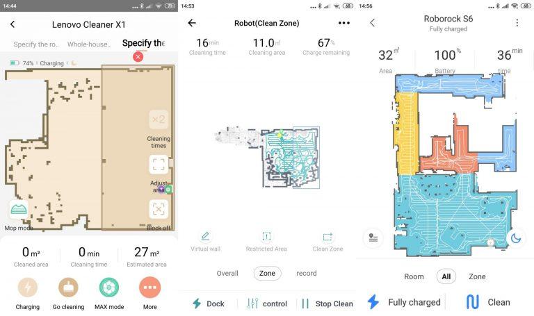 Xiaomi Roborock S6 robotporszívó teszt 17