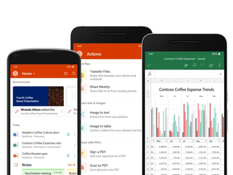 Mindenkinek elérhető az Office alkalmazás 5