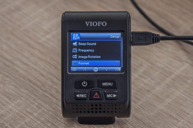 Viofo A119 V3 autós DVR teszt 19