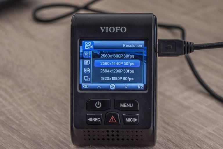 Viofo A119 V3 autós DVR teszt 21