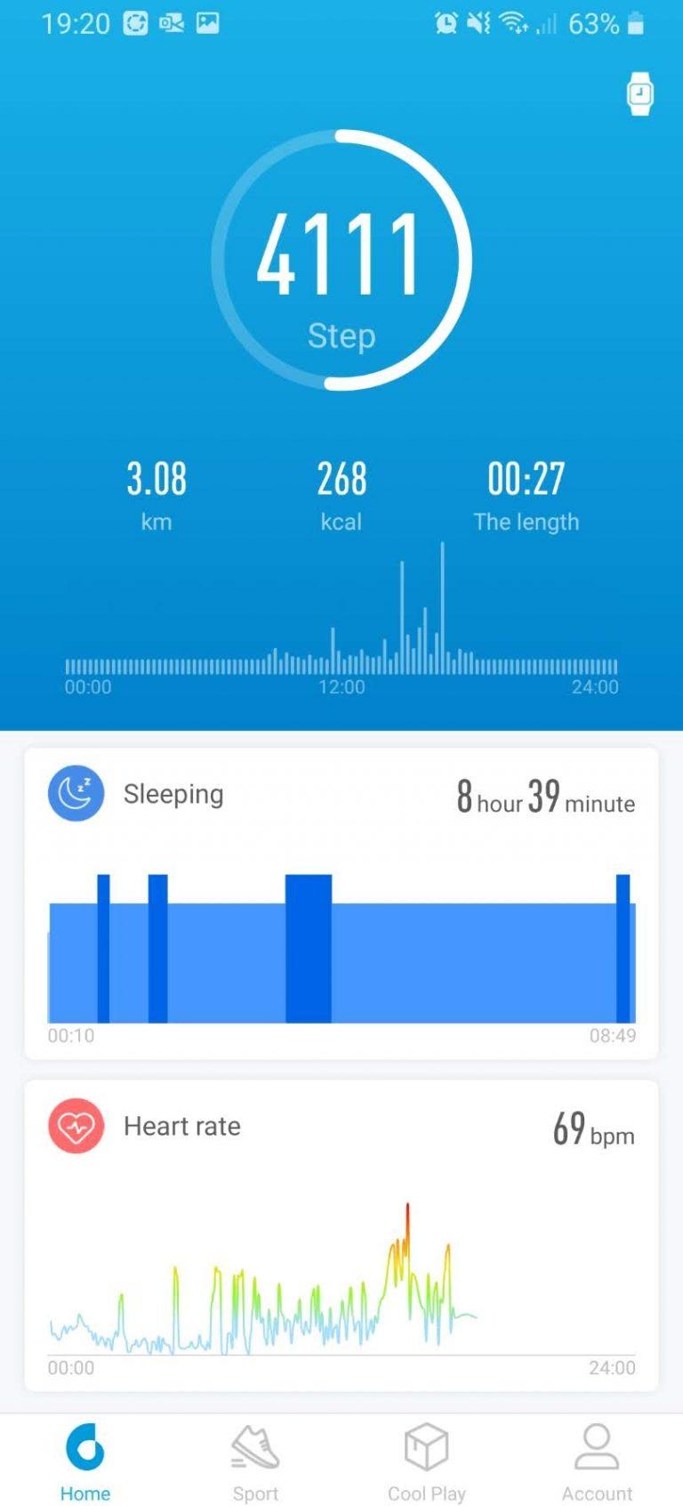 Xiaomi Haylou LS01 okosóra teszt 19