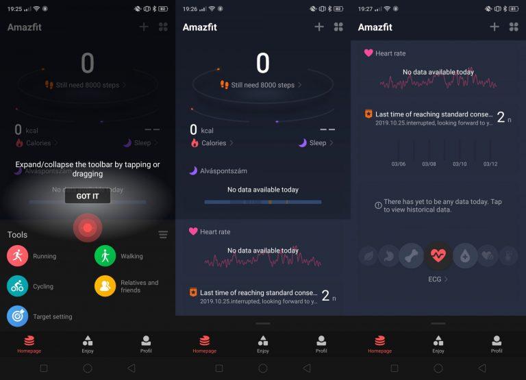 Megújult a Xiaomi Amazfit alkalmazás – Van valami a levegőben? 4
