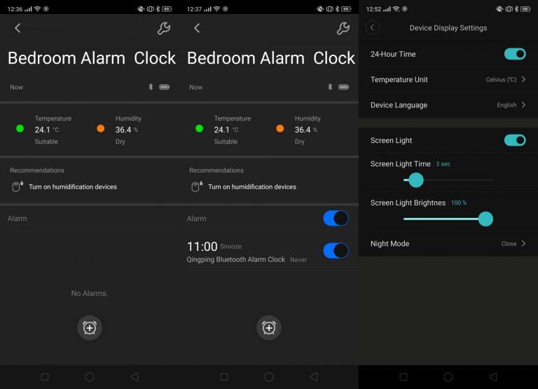 Xiaomi Qingping CGD1 ébresztőóra teszt 14
