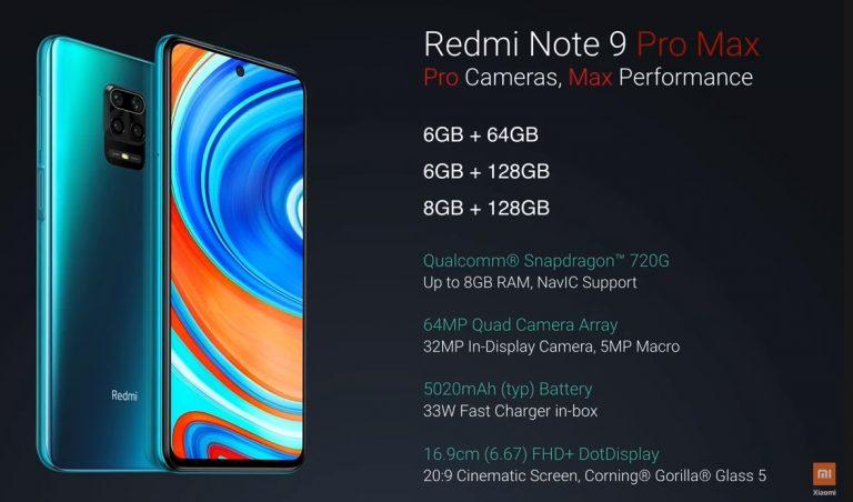 Bemutatták a Redmi Note 9 szériát 8
