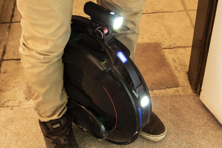 Gaciron V9S-1000 kerékpárlámpa teszt 16