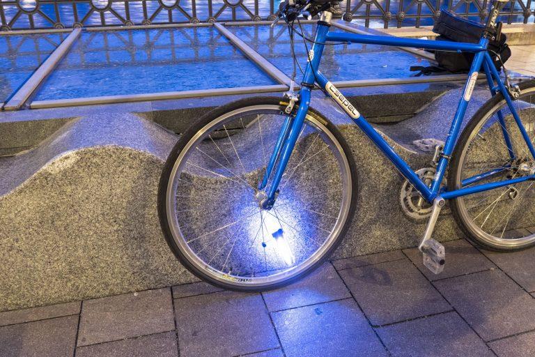 Kerékpáros küllőfény teszt 18