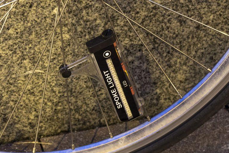 Kerékpáros küllőfény teszt 16