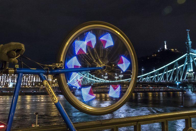 Kerékpáros küllőfény teszt 8
