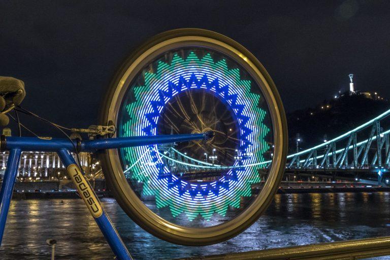 Kerékpáros küllőfény teszt 6