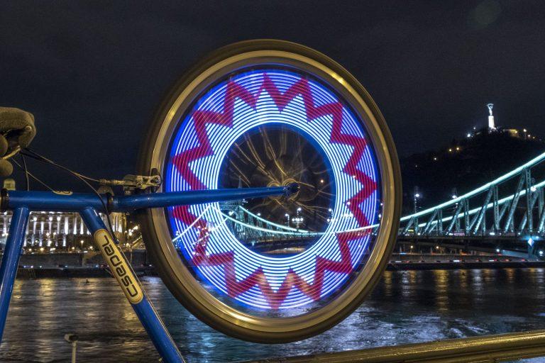 Kerékpáros küllőfény teszt 5