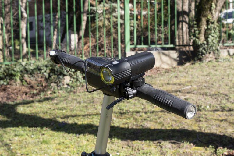 Gaciron V9S-1000 kerékpárlámpa teszt 18