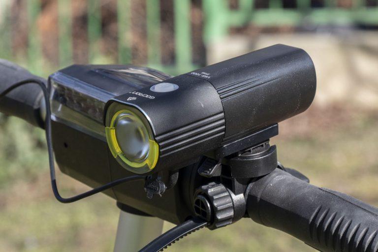 Gaciron V9S-1000 kerékpárlámpa teszt 19